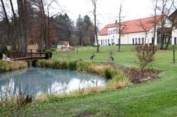 Spaziergang am Schwefelbach, der hinter dem Hotel entspringt