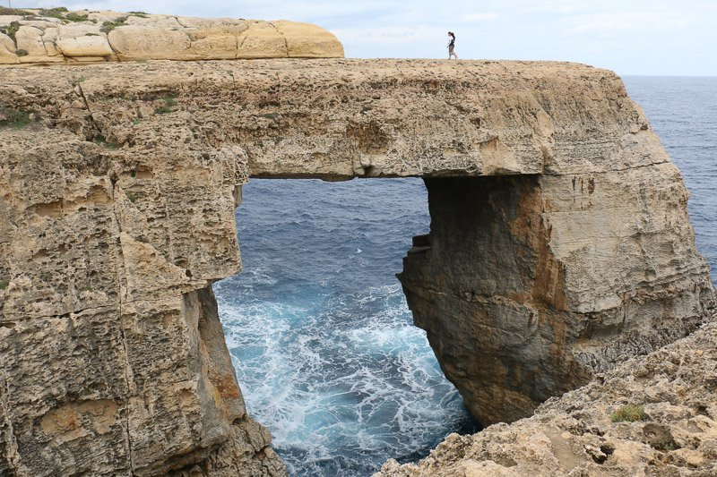 Felsenfenster Gozo