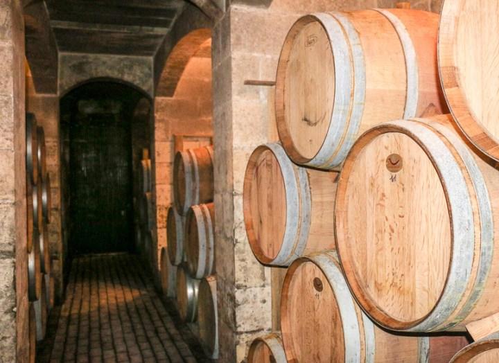 Keller vom Weingut Meridiana