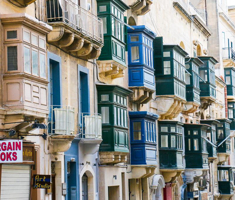 Traditionell maltesische Architektur