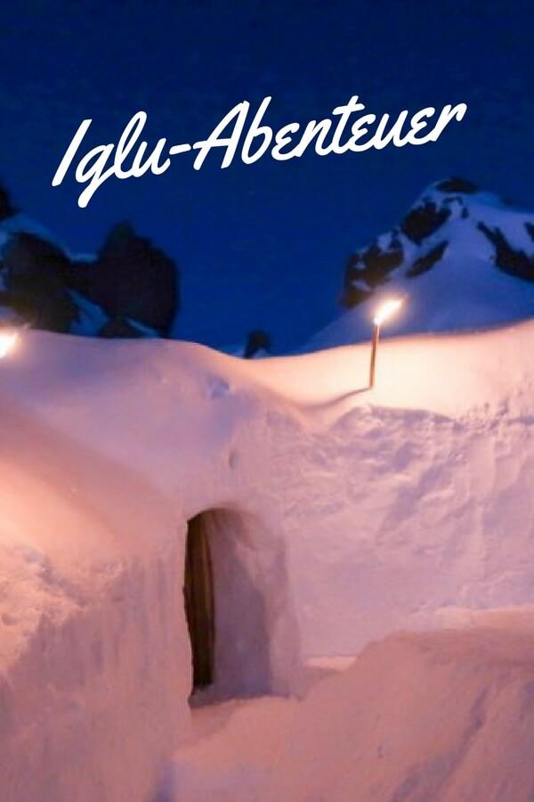 Fondue, Fackeln und Lagerfeuer – beim Iglu-Abenteuer in den Montafoner Bergen erlebst du Natur hautnah. Mit mehr Sternen als ein Hotel je bieten könnte. #iglu #abenteuer #montafon #österreich #outdoorliving #outdoor