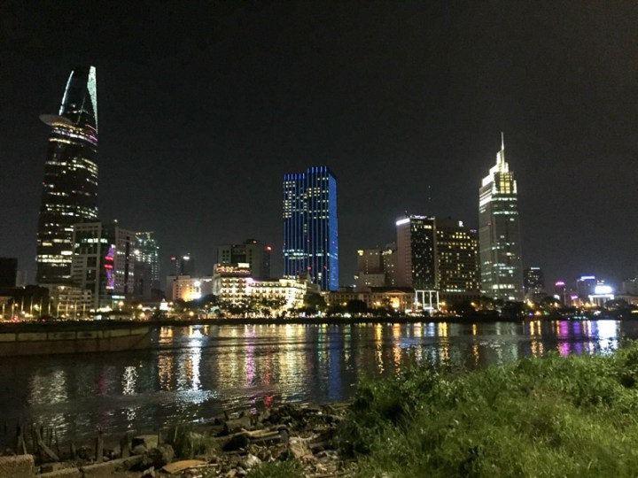 Skyline von Saigon