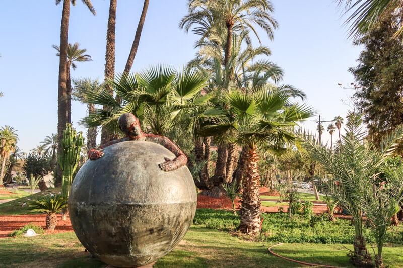 Gartenkunst in Marrakesch