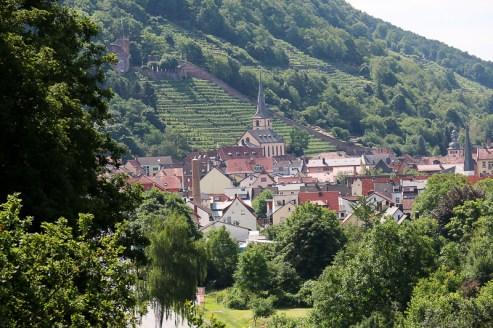 Blick auf Klingenberg am Main