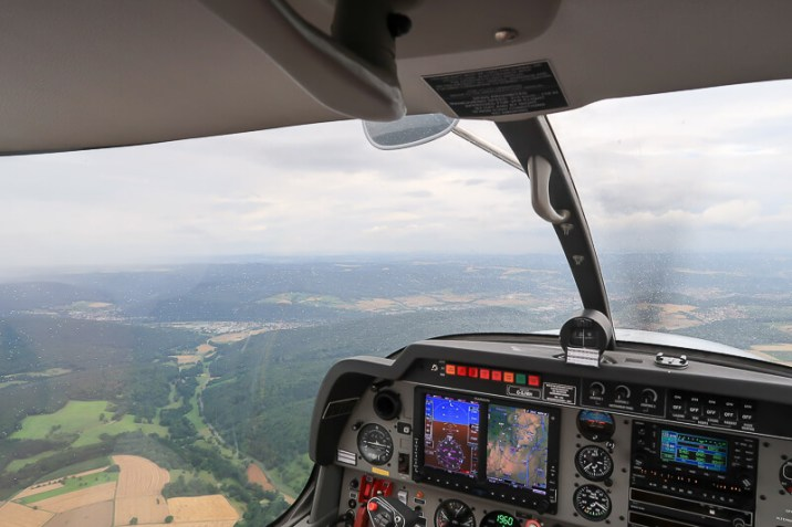 Rundflug über Churfranken