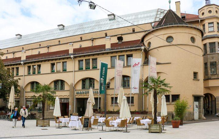 Die Stuttgarter Markthalle von der bürgerlichen Seite