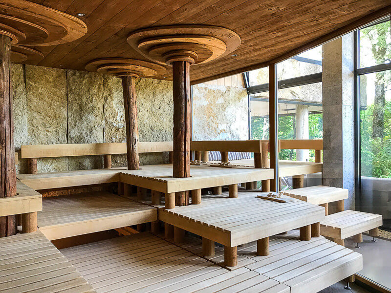 Panorama-Sauna