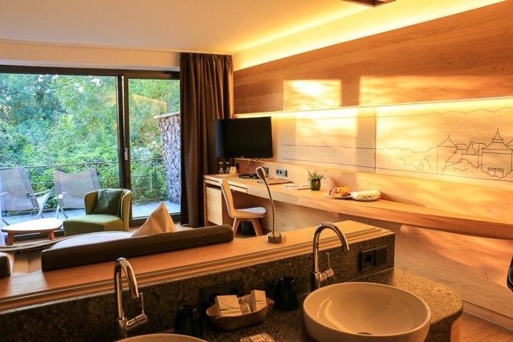 Unser Zimmer im Mawell-Resort