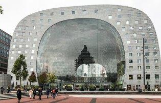 Coole Architektur: Markthalle Rotterdam