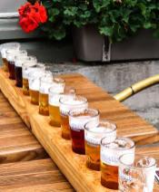 Belgisches Bier, Verkostung in Brügge