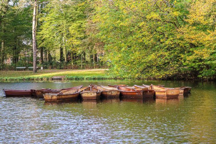 Kanus im Bürgerpark Bremen