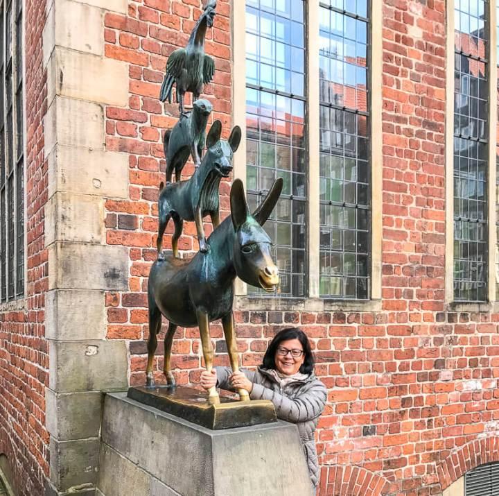 Glücksbringer und Wahrzeichen: Bremer Stadtmusikanten
