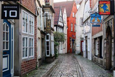 Schnoor, der älteste Teil von Bremen