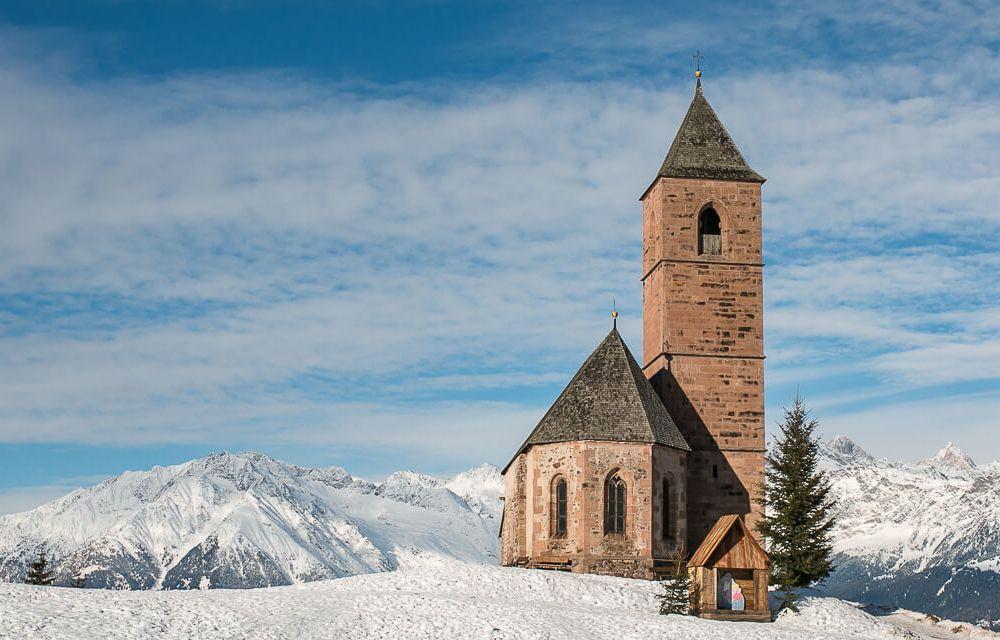 Kirche in Hafling, St. Kathrein