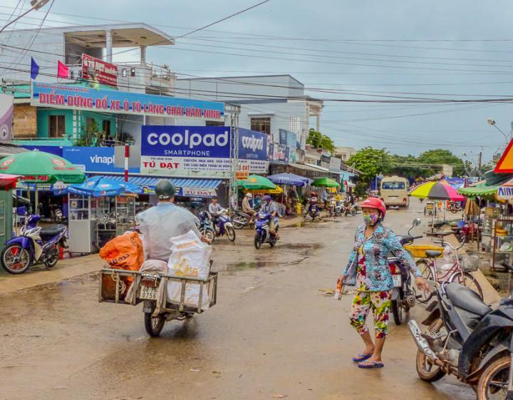 Dorfleben auf Phu Quoc