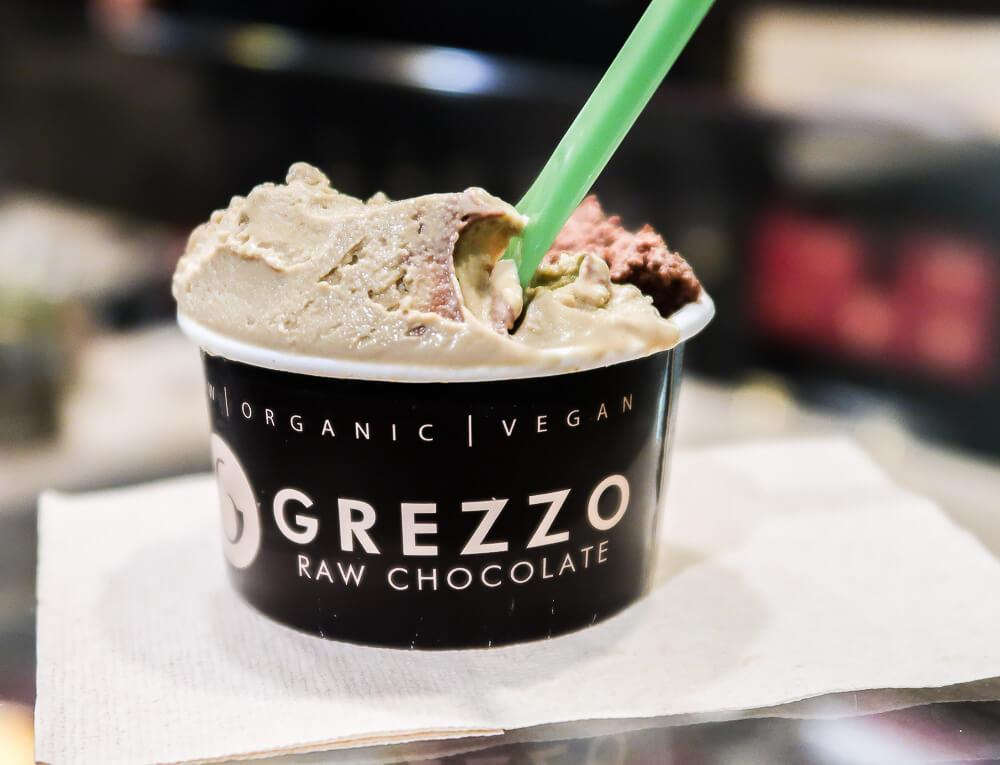 Monti: Eis von Grezzo, der besten Gelateria in Rom
