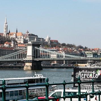 Budapest, Blick auf die Fischerbastei