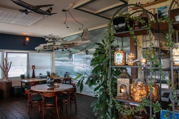 Restaurant Flantuas am Airport Lelystad, Flevoland