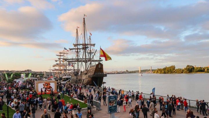 Zum 20. Weinfest kamen die großen Segelschiffe der Welt