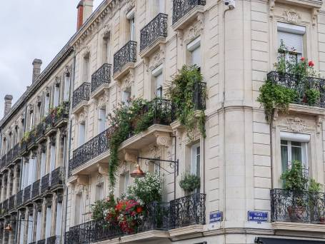 Fassade in Saint Michel