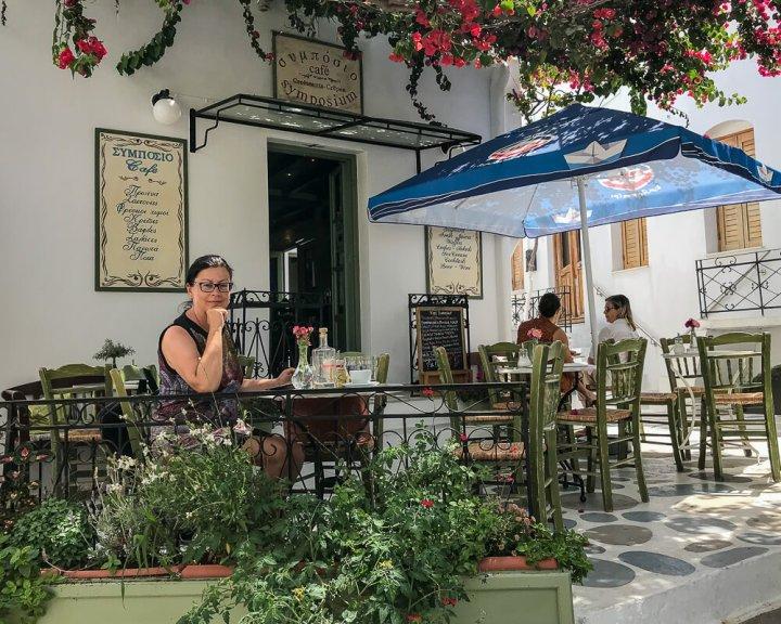 Lieblingsplatz zum Frühstücken: Café Symposium