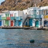 Bootshäuser bei Klima, Milos