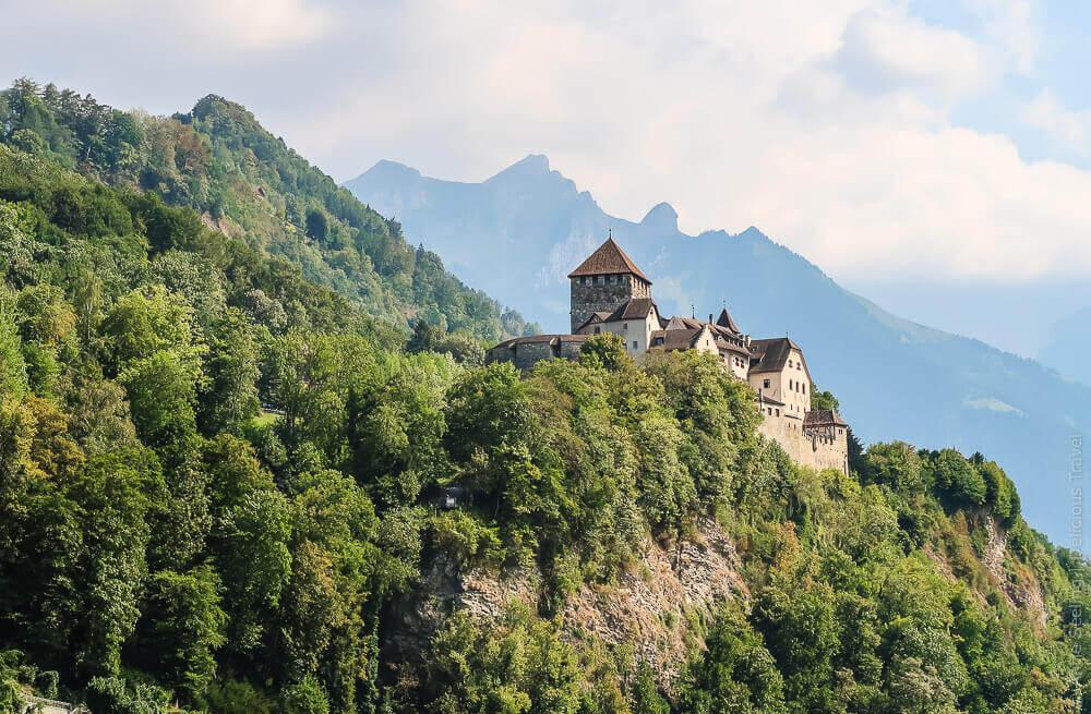 Fürsten-Schloss Vaduz, Liechtenstein