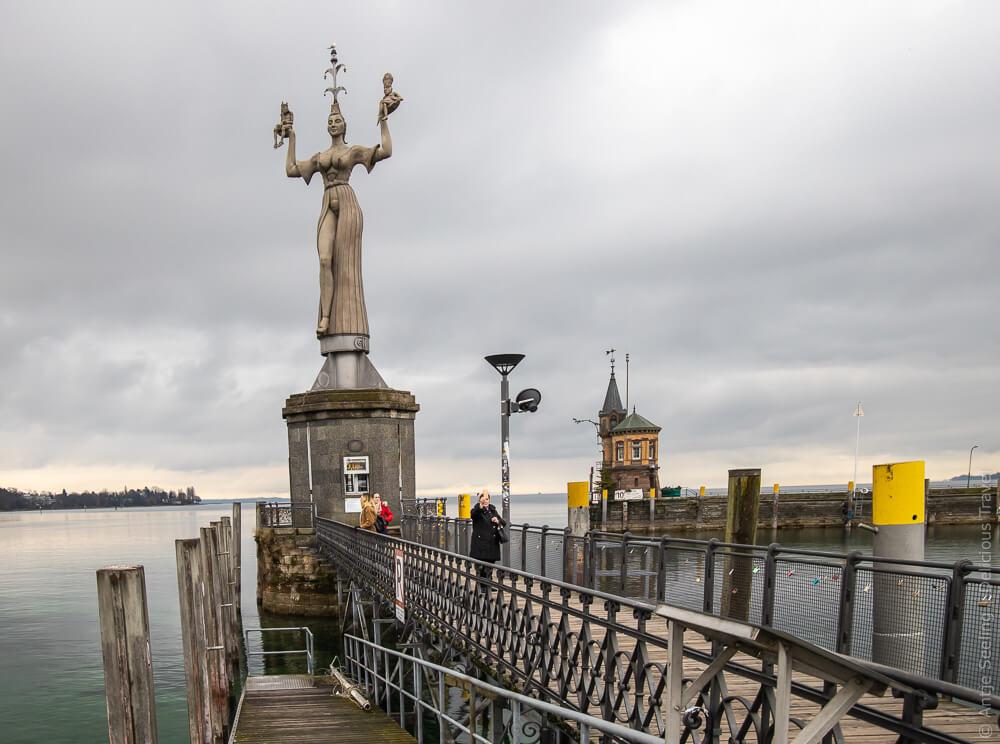 Imperia im Hafen von Konstanz, Bodensee