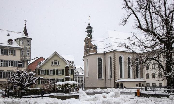 Kathedrale in St. Gallen