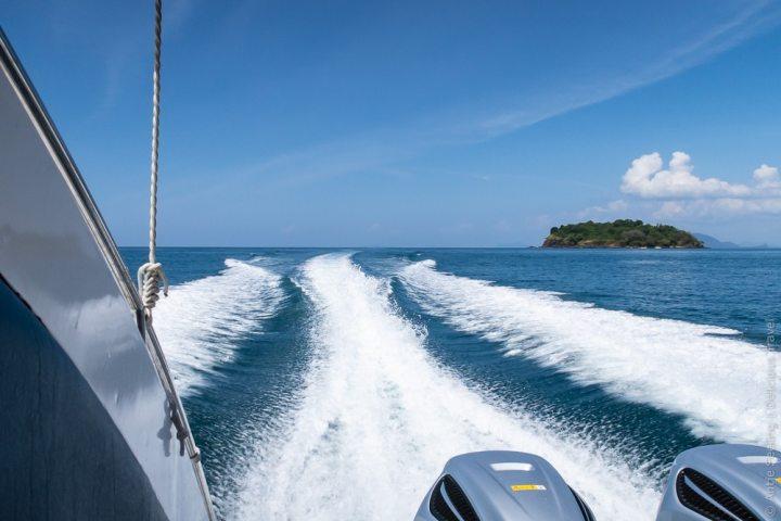 Inselhopping mit dem Speedboot