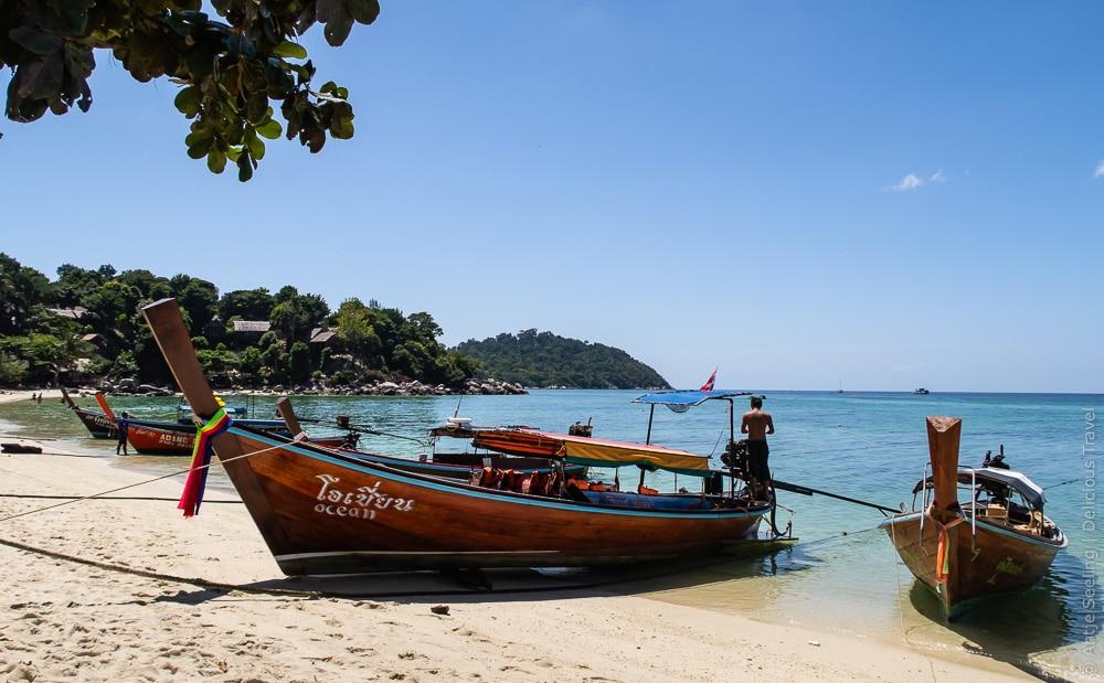 Der Sunset Beach ist der ruhigste der drei Hauptsrände auf Koh Lipe