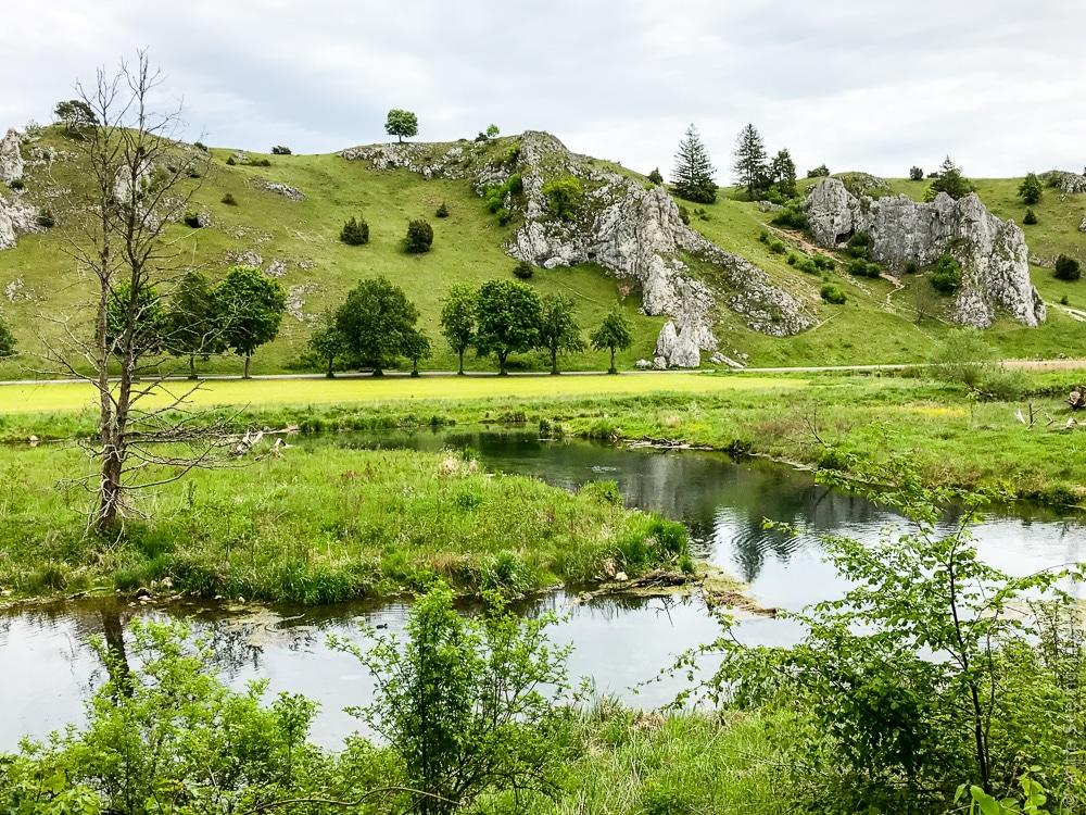 Eselsburger Tal auf der Ostalb, Schwäbische Alb