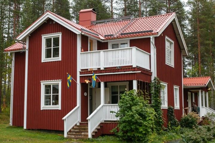 Ferienhäuser auf der Stormyrberget-Farm