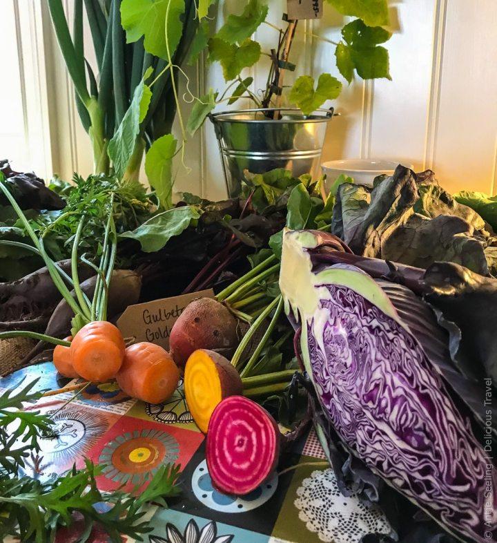 Vom Feld direkt auf den Tisch: Gemüse der Stormyrberget-Farm