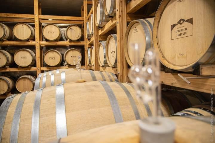 Einen Teil der Weine bauen die Weingärtner Stromberg-Zabergäu im Holzfass aus