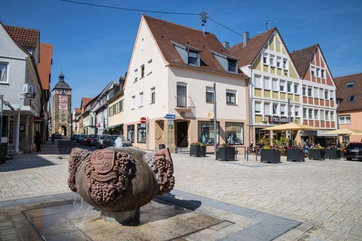 Marktplatz der Ganerbenstadt Bönnigheim