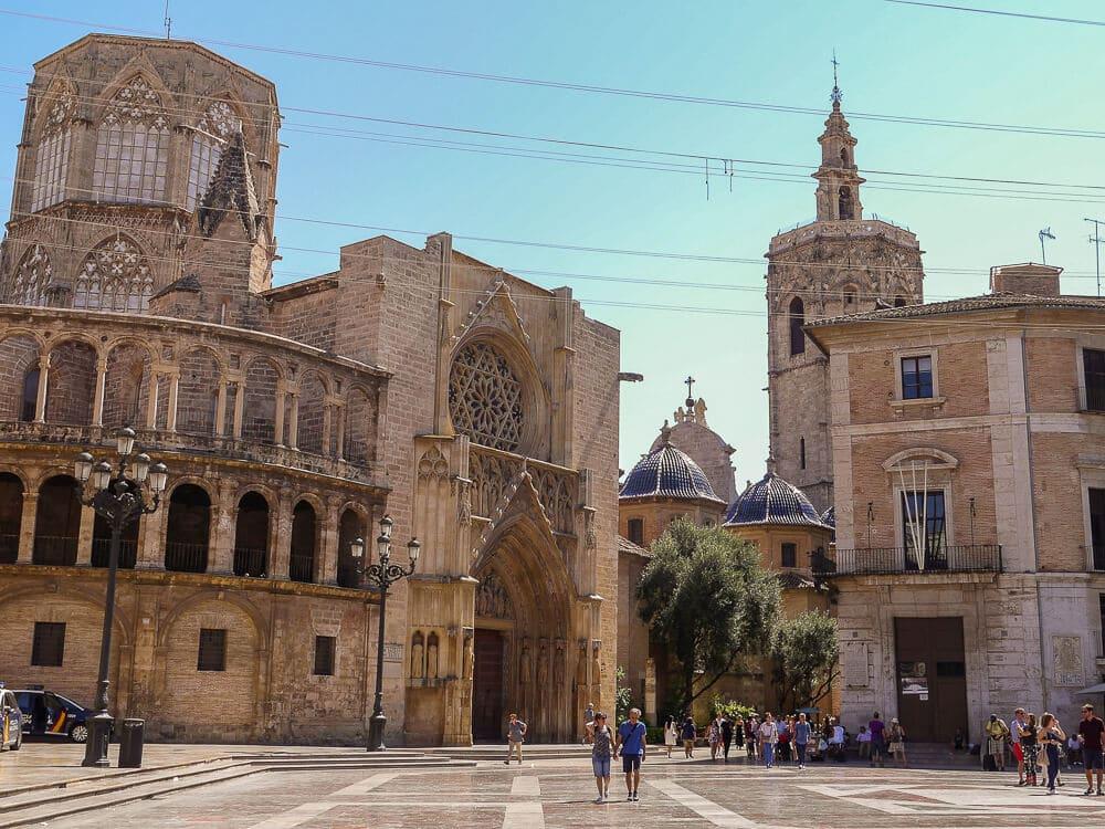 Plaça de la virgen, Altstadt von Valencia, Span