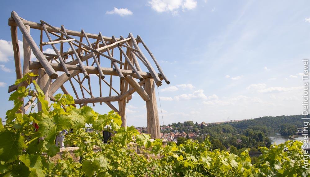 Aussichtsplattform am Wein-Lese-Weg