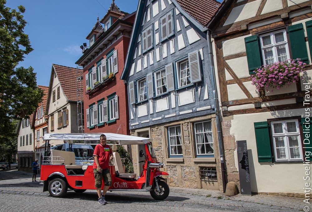 Tuk Tuk Tour durch Marbach am Neckar