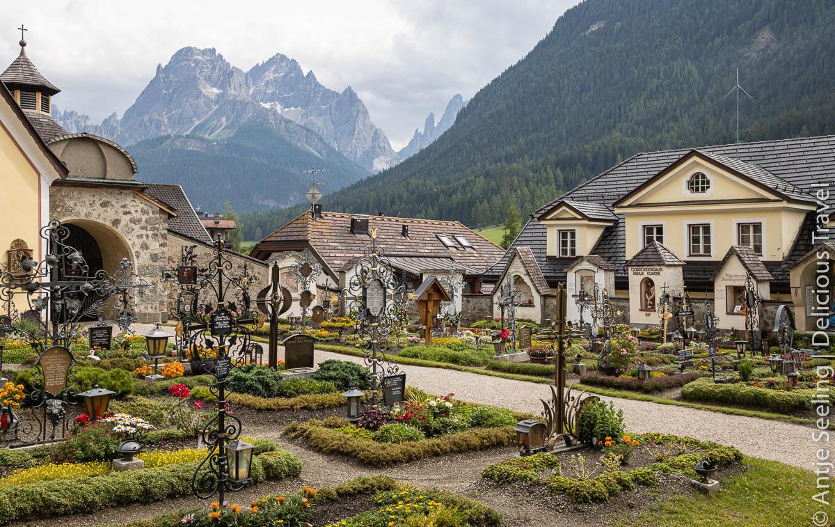 Voller Geschichten: Sexten Bergsteigerfriedhof