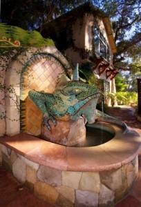 Emerald_Iguana_Inn_Hotel_Ojai_California_Iguana