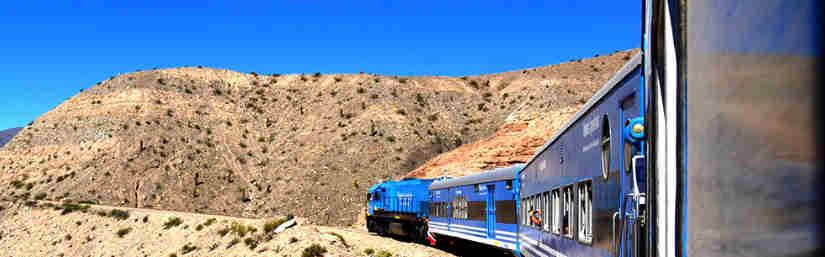 Train des Nuages, Argentine,  Train emblématique