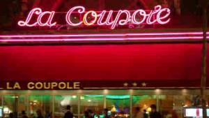 La coupole, brasserie Parisienne de renom