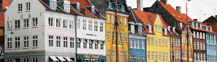 Copenhague, 5 j/ 4 nuits 545 euros TTC