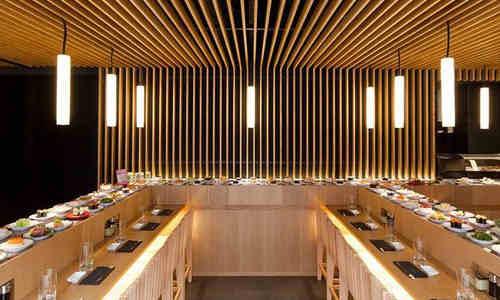 Matsuri, restaurant japonais à comptoir tournant