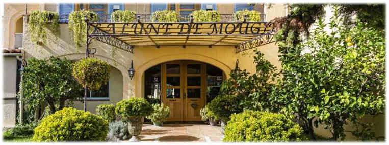 La Lune de Mougins Hôtel Restaurant Côte Azur