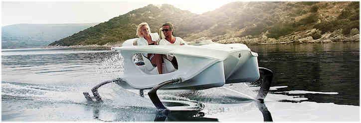 La SeaBubbles, un nouveau moyen de transport en vue