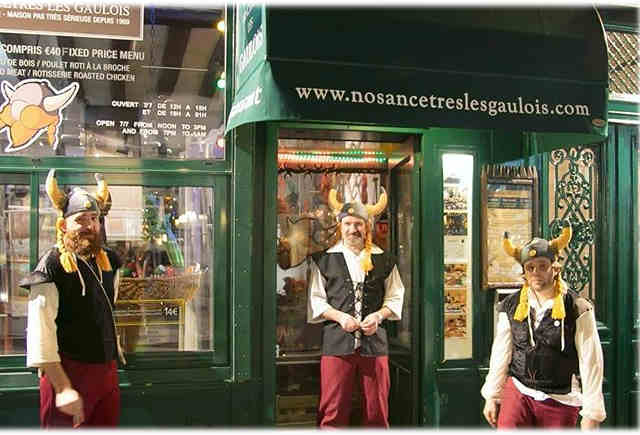 Le restaurant «Nos ancêtres les Gaulois» fête ses 50 ans !