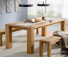 Esstisch Mattis massiv Eiche geölt 160x90 Holztisch Tisch ...
