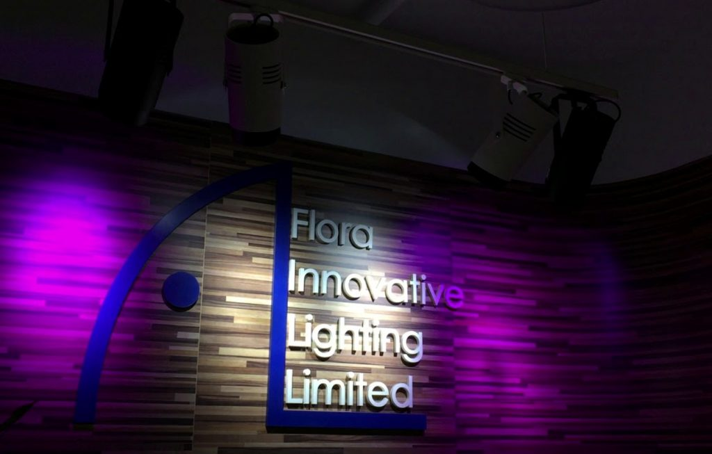flora innovative lighting features the
